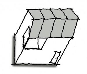 インナーバルコニーの家
