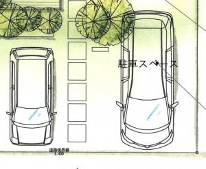 駐車場の距離