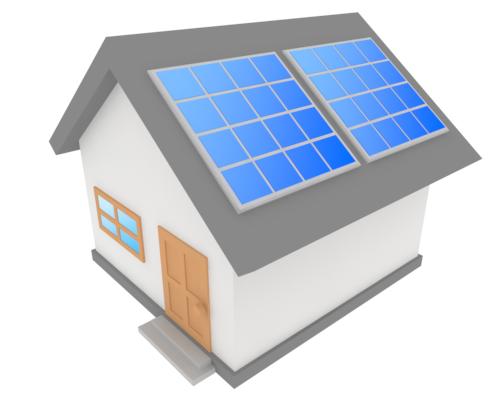 屋根の形と太陽光