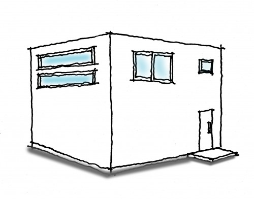 四角い家2