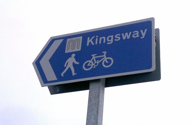 徒歩と自転車