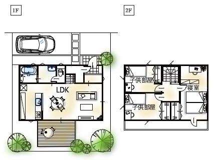 27坪の家