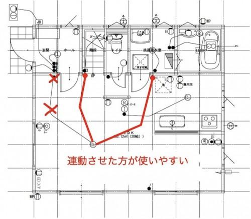 電気配線図とスイッチ