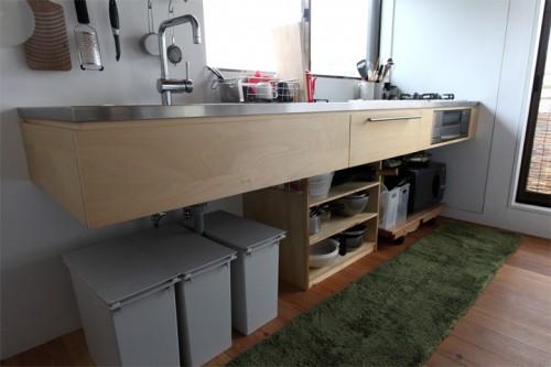 キッチン下ゴミ箱