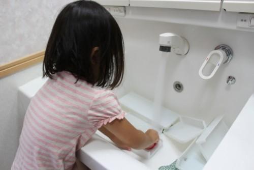 洗面手洗い