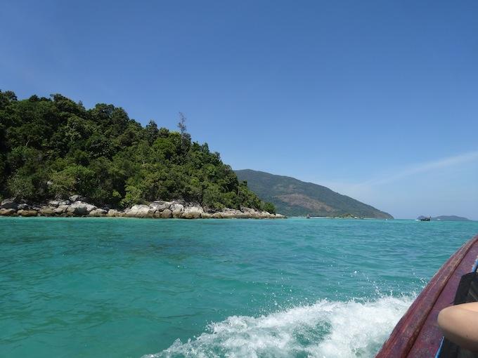 リペ島南端