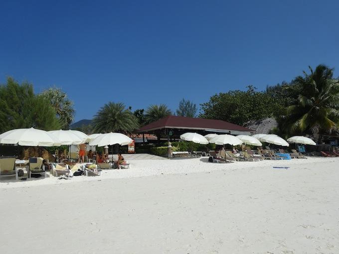 パタヤビーチのレストラン