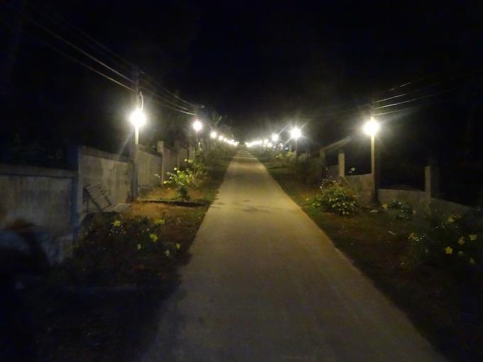 マウンテンリゾートの夜