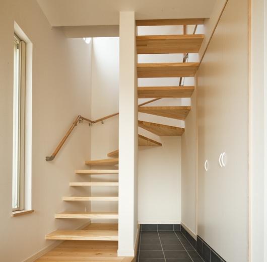 U字型ストリップ階段