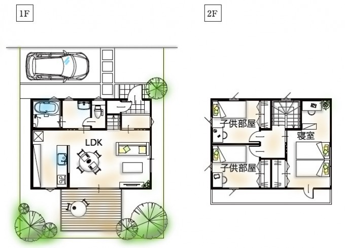家の坪数(24坪の家)