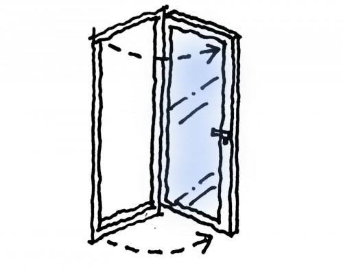 縦すべり窓