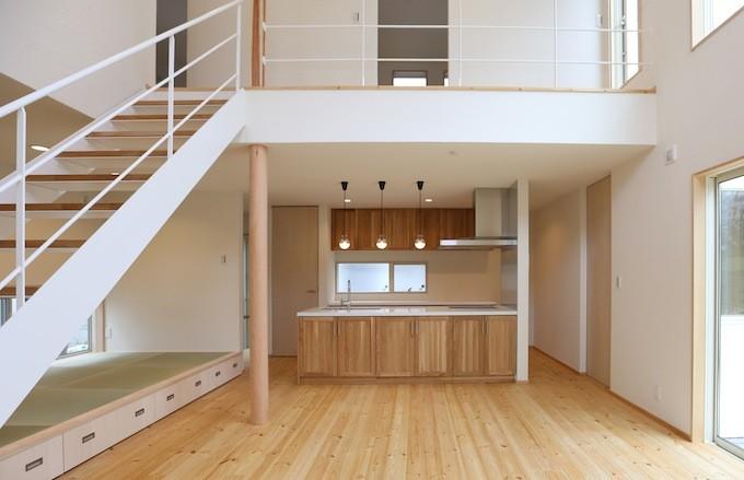 木造工法 室内