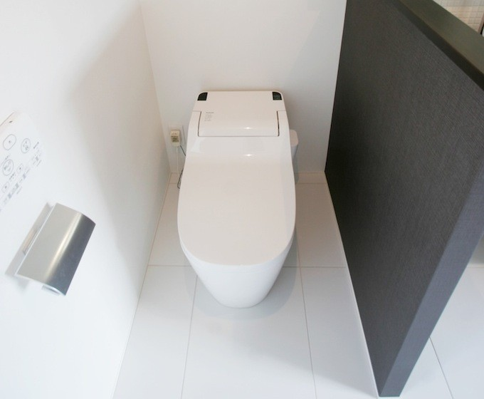 トイレの場所