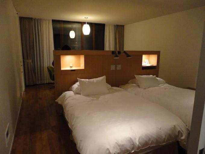 寝室の広さ