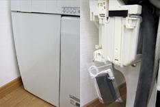 タンクレストイレ停電用レバー