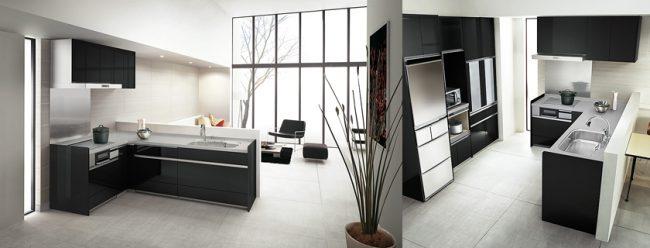 対面式L型キッチン