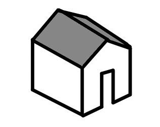 屋根の種類(切妻屋根)