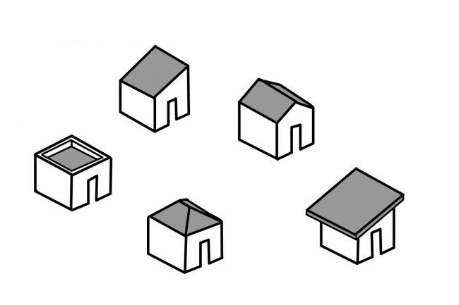 コストダウンできる新築の屋根