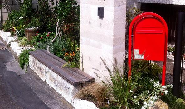 家の郵便ポスト