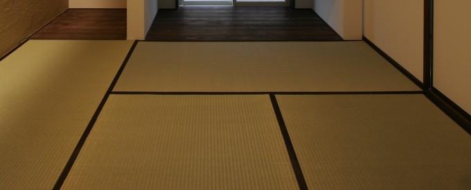 和室の1帖畳