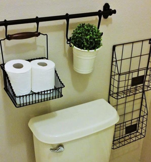 トイレを飾る