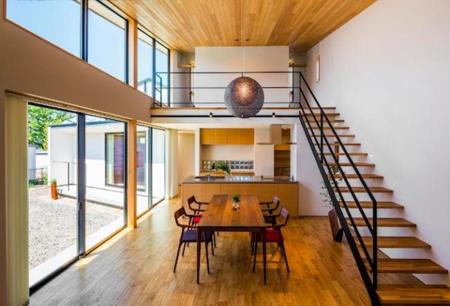 内装 木材 天井