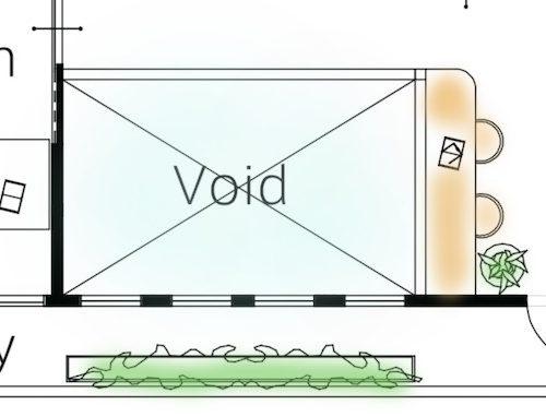 間取りの記号(void)