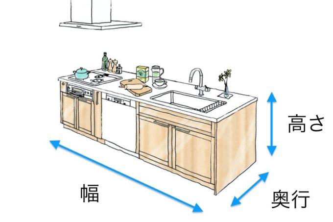 キッチンのサイズ