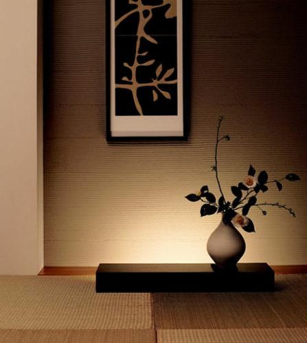 モダンな和室の照明
