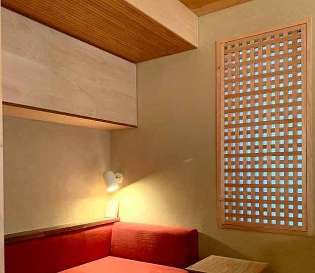 和室の木製格子