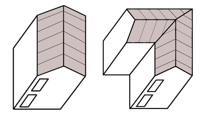 安く家を建てる時の形
