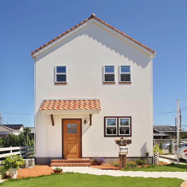 洋風の家の屋根勾配
