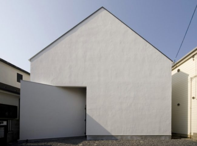 切妻屋根の家4