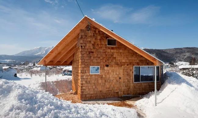 切妻屋根の家7