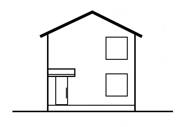 家の外観(窓)2