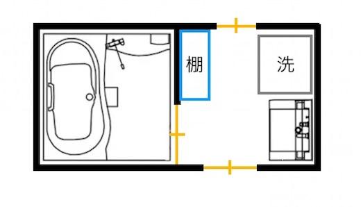 間取り2(洗面の窓)