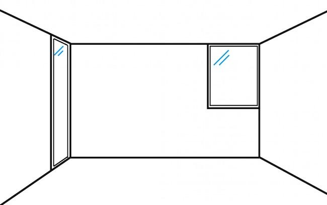 部屋が広く見える窓