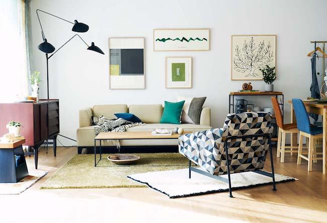 軽さのある家具