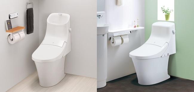 タンク付きトイレのデザイン