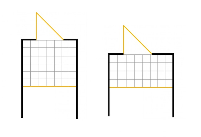 玄関の広さの比較